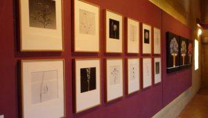 Horta de Sant Joan. Algunes de les imatges de la mostra d'art 'Homenatge a Horta', que s'ha instal·lat a la sala d'exposicions    del convent de Sant Salvador.